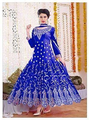 Anarkali Net with Georgette Salwar Kameez Suit