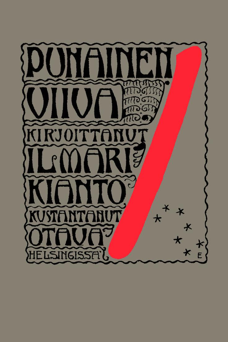 Title: Punainen viiva | Author: Ilmari Kianto