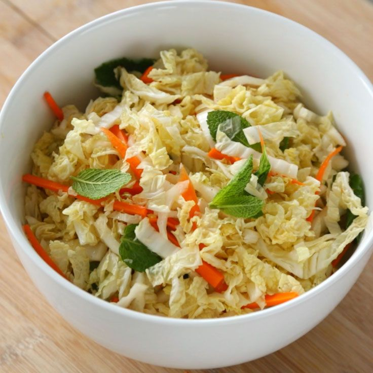asian inspired napa cabbage slaw asian inspired napa cabbage slaw ...