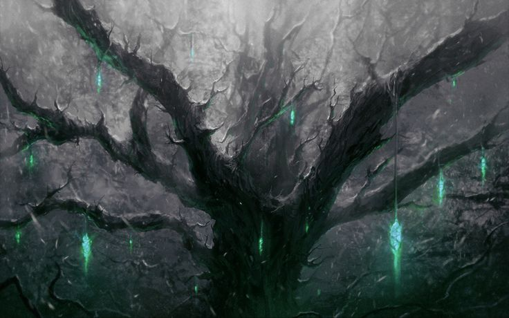 Ghost tree by ChrisCold on DeviantArt