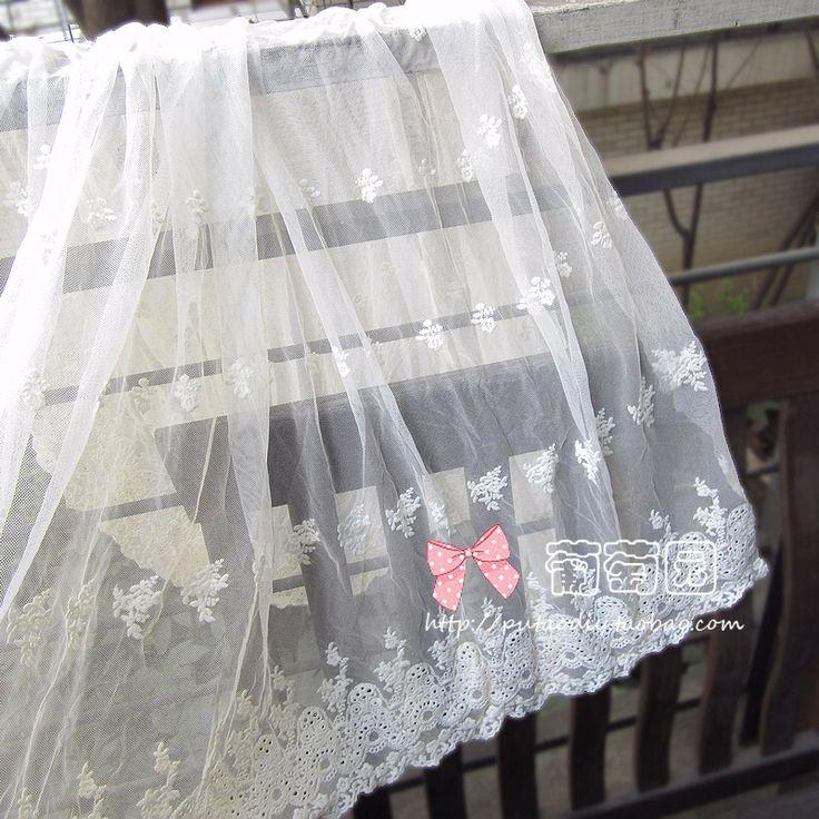 Bølget blondere broderi bilateral utenrikshandel Klut Stoff DIY håndlagde blondere kjole Stoff Seng skjørt Stoff - Taobao