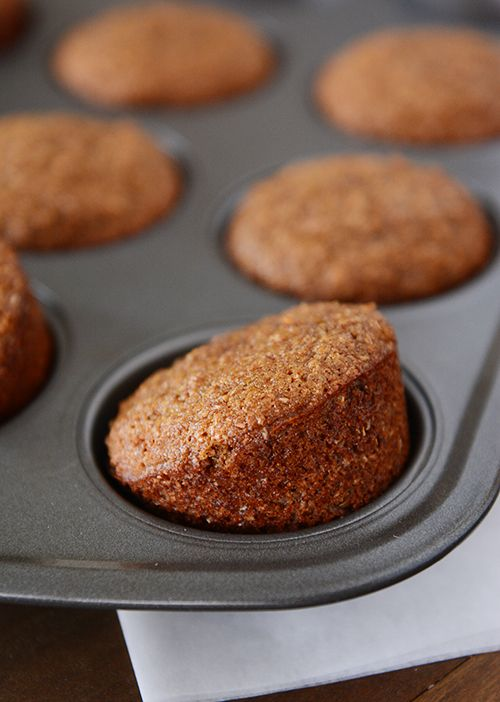 We've been eating these muffins left and right, up and down, over and under (ok, I'm done) for a...