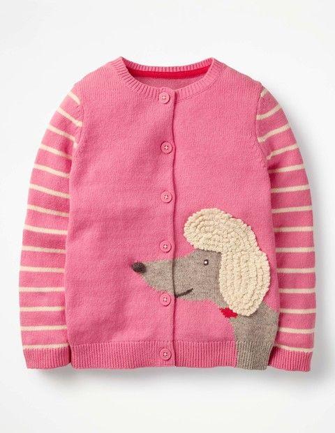 Boden Sale Boden Cardigan Mit Tiermotiv Pink Madchen Boden Grun