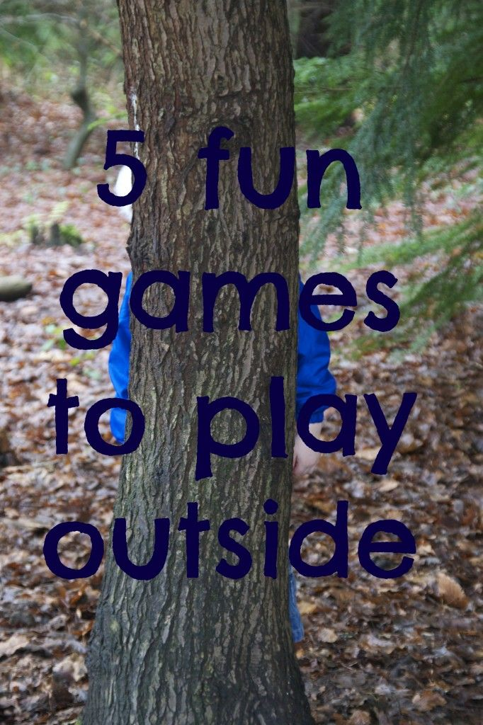 Five games to play outside that children never tire of!