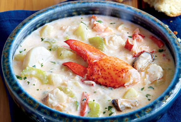 Nova Scotia Seafood Chowder - inspired by the Masstown Market chowder.