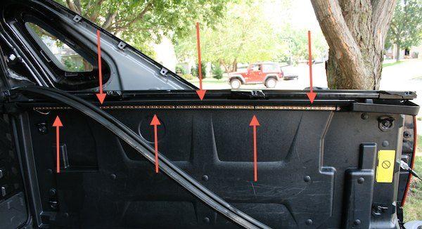 2007 Led Truck Bed Saddlebag Light Install Pics Truck Bed Trucks Installation