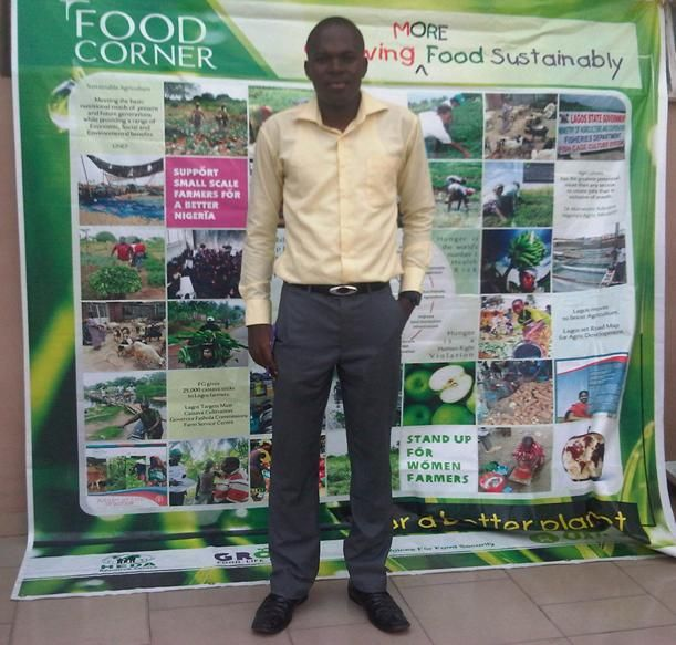 Food security for a mega population...and the Youth - Feedback from the Youth policy dialogue series, Nigeria