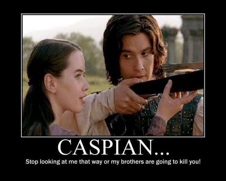 Hahaha yeah Caspian...chill it