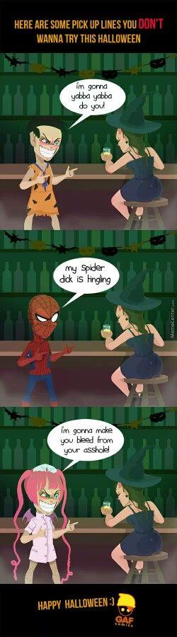 Halloween pick up lines