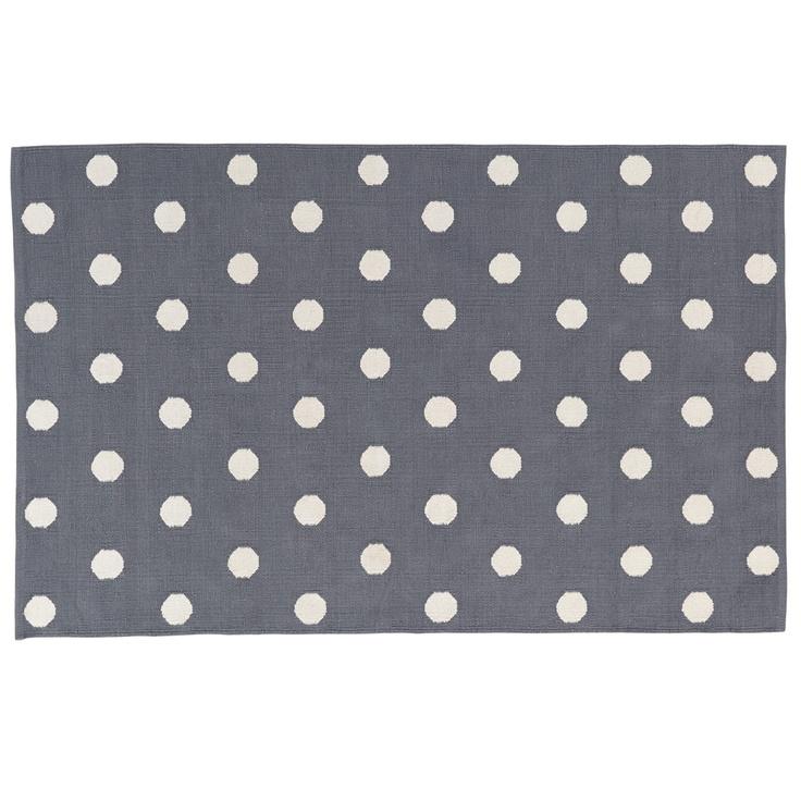 Grey Polka Dot Rug 8x10 Polka Dot Rug Kids Rugs