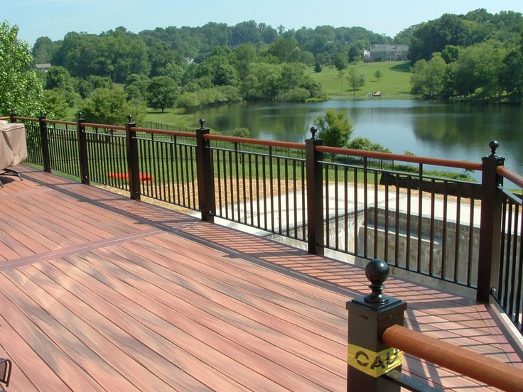 This huge guide has 243 different deck railing ideas and designs to use for  your porch, deck or patio.