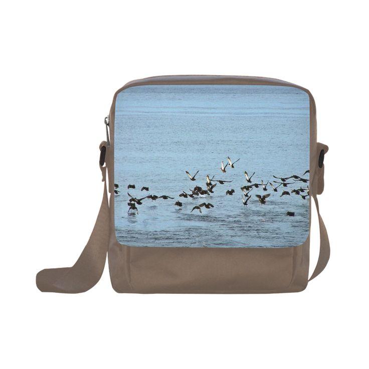 Flock Off Crossbody Nylon Bags (Model 1633)