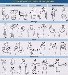 Exercícios de relaxamento e distração psicológica