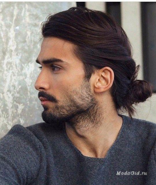 Картинки по запросу мужские стрижки на длинные волосы