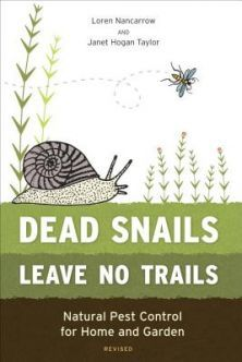 $14.95 I love it a book on natural pest control for the garden and house, Dead Snails Leave No Trails, I do like to look after the friendlies in the garden life butterflies.