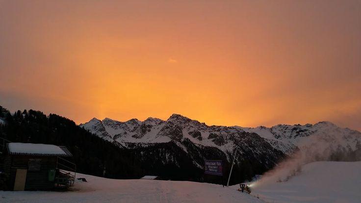 In #Trentino si scia anche sul Vulcano!