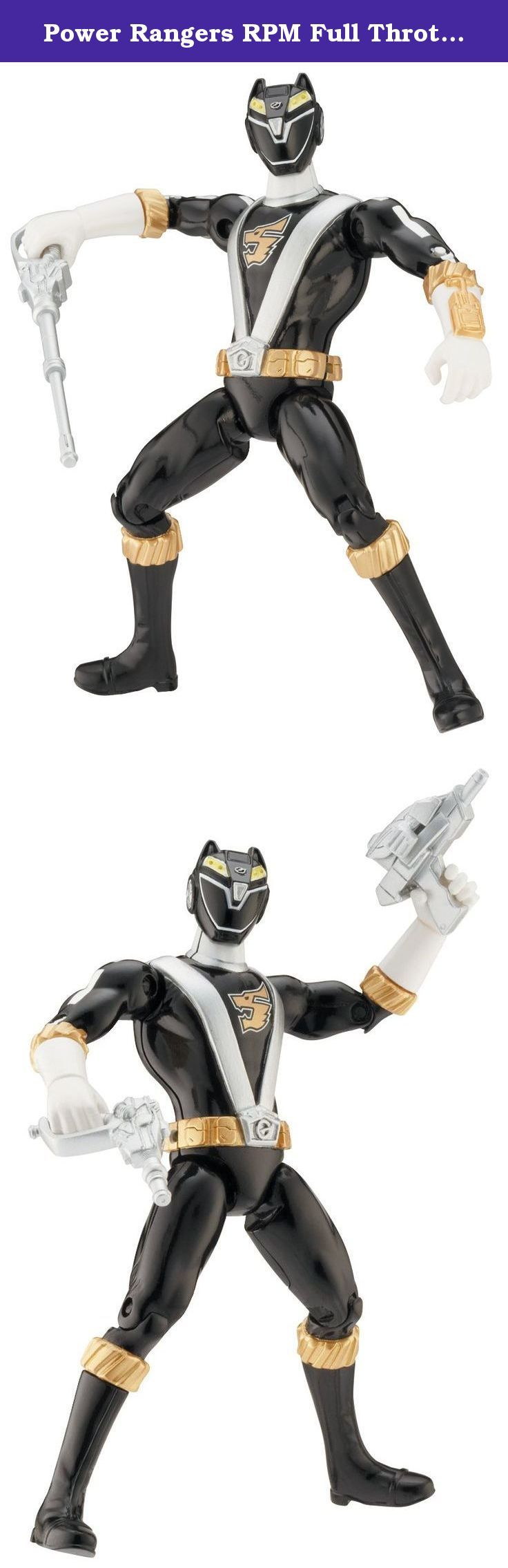 Power Rangers RPM Full Throttle Wolf Ranger. Power Rangers RPM Full Throttle Wolf Ranger Figure.