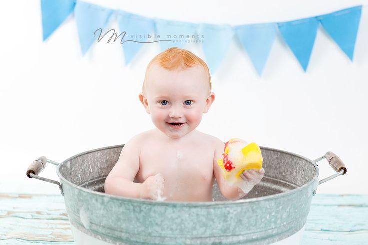 Boy first birthday photos idea