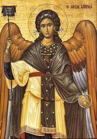 Παναγία Ιεροσολυμίτισσα : Ο Αρχάγγελος Γαβριήλ