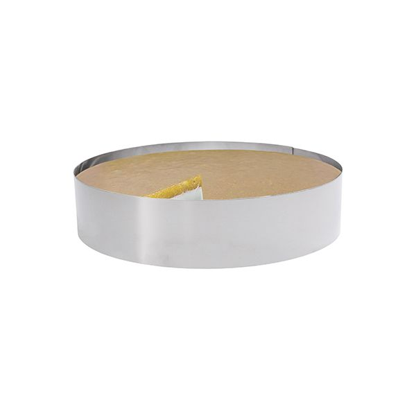 Inox cheesecake ring