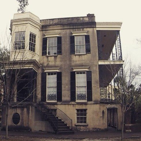 432 Abercorn — Savannah, Georgia. Though most of the horrifying stories surrounding this house are fabricated, people have still captured eerie ghosts on film and been overtaken by negative energy while on the property. It's speculated to have been built on a burial ground.
