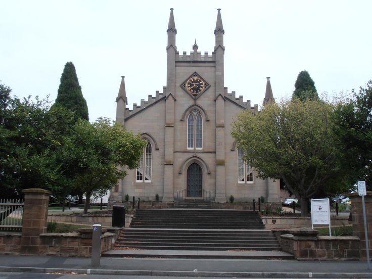Symmetrical view of Scotch Church Bathurst Street