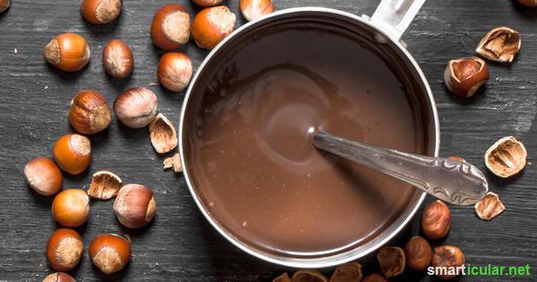 die besten 25 schokoaufstrich ideen auf pinterest gesunde nutella rezepte schokocreme und. Black Bedroom Furniture Sets. Home Design Ideas
