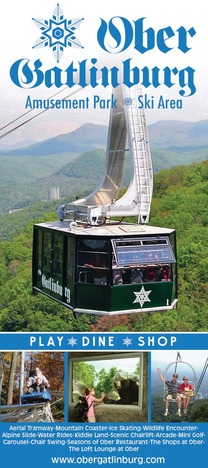 Welcome to the scenic and exciting four-seasons world of Ober Gatlinburg Ski Area and Amusement Park, high above Gatlinburg, Tennessee!