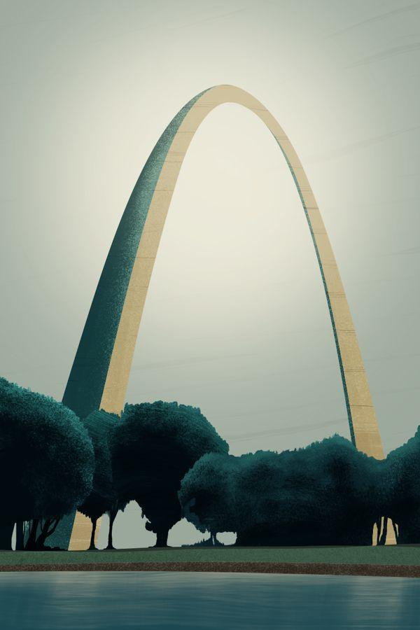 #StLouis #Arch