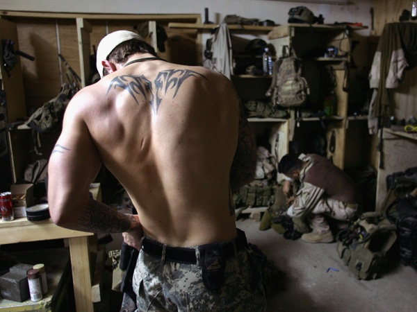 Navy SEALs, natch. Come one, come all! #SEALs #Navy