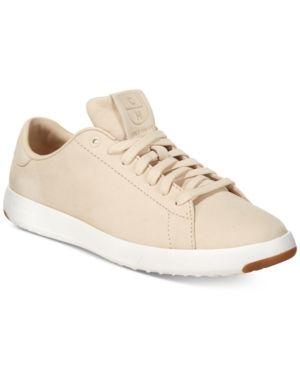Cole Haan Grand Pro Tennis Sneakers - Tan/Beige 10.5M