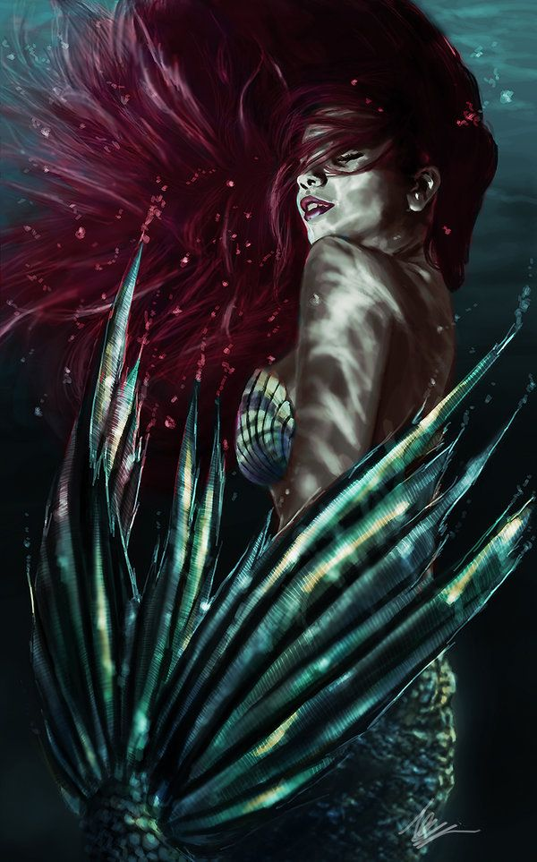 "Mermaid by tansy9.deviantart.com on @DeviantArt - Ariel from ""The Little…"