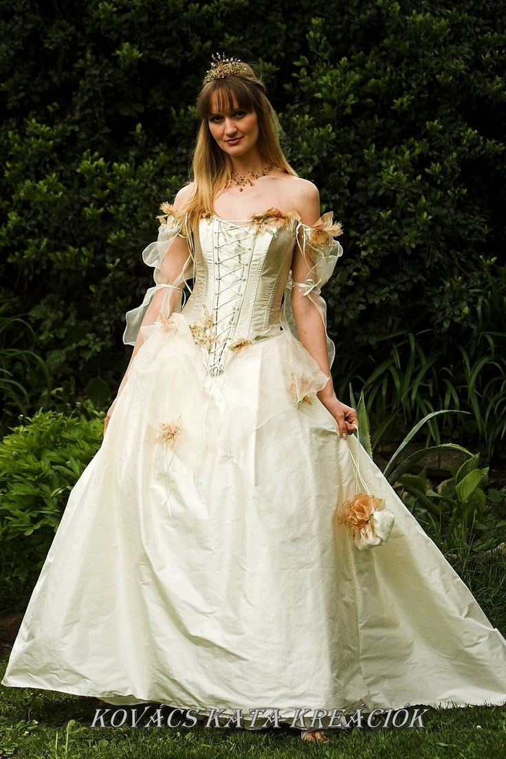 Fairy Tale Wedding Dresses   Rococo Inspired Fairy princess Corseted ...