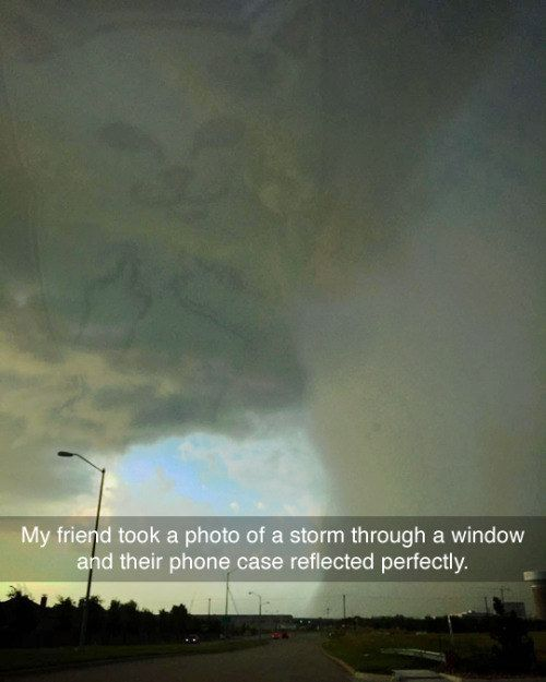 This miraculous moment captured perfectly. | 28 Snapchats That Will 100% Make You Smile