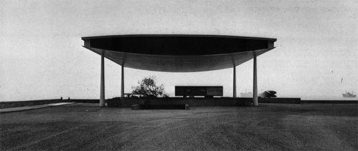 """Angelo Mangiarotti - Pavillon pour l'exposition """"Fiera del Mare"""" à Genova #mangiarotti #architecture #pavillon"""