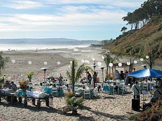 Outdoor Beach Event Complete With Catering!