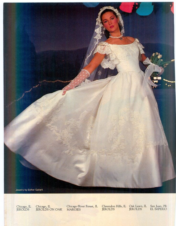 148 Best Images About 1980s Wedding Gowns On Pinterest
