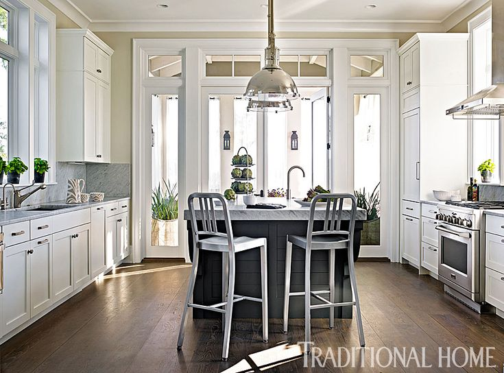 Traditional Open Kitchen Designs 198 best kitchens & dining rooms images on pinterest | white