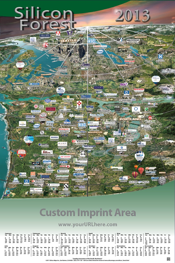 Silicon Forest Map 21 best Silicon Maps