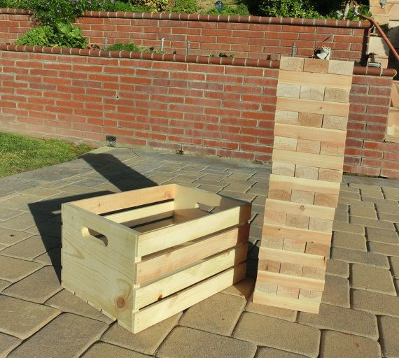 Hey, I found this really awesome Etsy listing at https://www.etsy.com/listing/225399300/giant-tumbling-blocks-game-with-custom