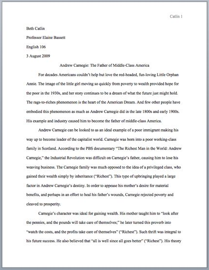 research paper format apa sample
