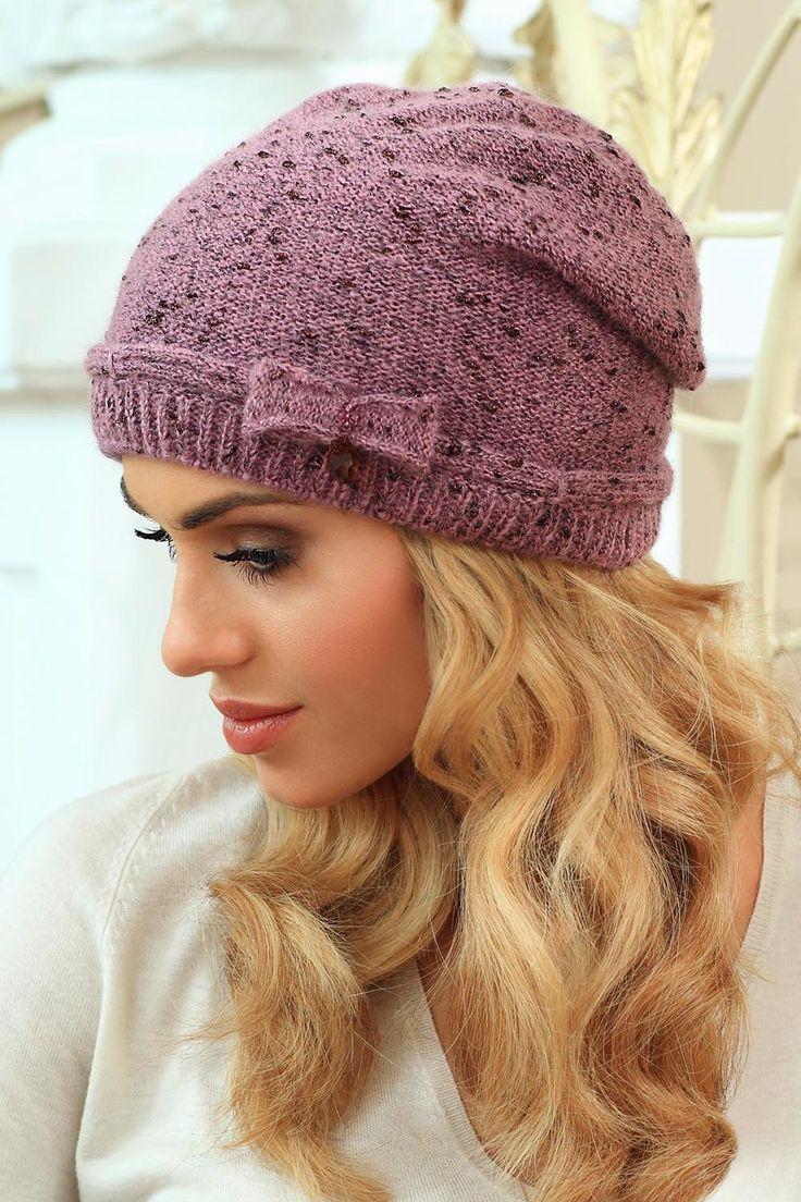 Kamea Larissa    kontri.pl  Kliknij w zdjęcie - zobacz szczegóły  #czapka #kamea #kontri #kobieta #zima
