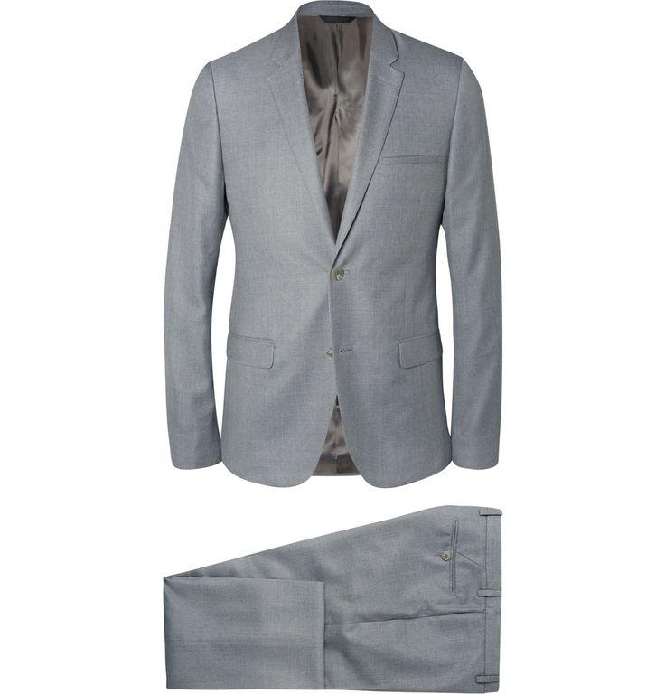 Harrys Navy Slim-fit Checked Wool, Silk And Linen-blend Suit Trousers - NavyKingsman