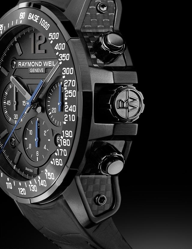 RAYMOND WEIL - Nabucco Rivoluzione Watch | Noir Kingdom http://www.thesterlingsilver.com/product/michael-kors-mk8412-45mm-multicolor-steel-bracelet-case-mineral-mens-watch/