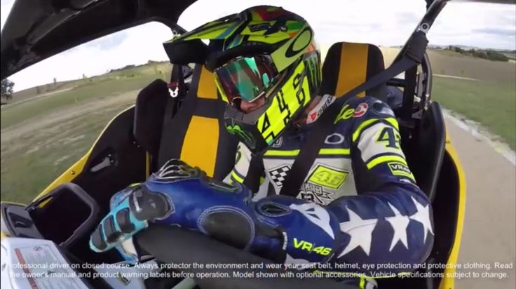 Valentino Rossi Ripping With The Yamaha YXZ1000R (VIDEO)