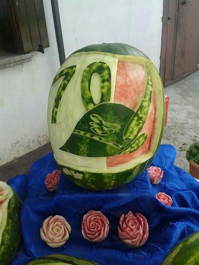 Thai carving su anguria
