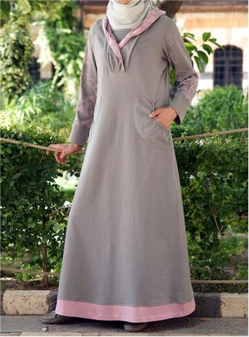 SHUKR International | Maxi Sweaterdress Hoodie