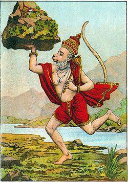 Hanuman, the Monkey King of Shangri-La and a Hindu deity.