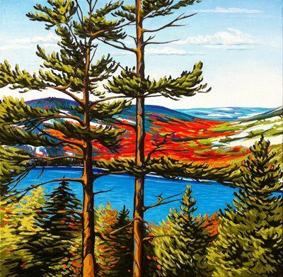 """""""Killarney Ridge"""" by Margarethe Vanderpas"""