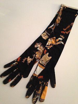 NWOT-Rare-Hermes-Kachina-Jersey-Long-Gloves-S-M